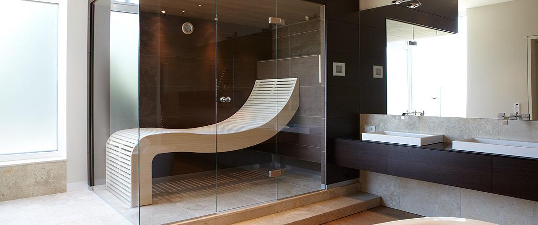 Das Badezimmer verwandelt sich zunehmend in ein Home-Spa - Erdmann Sauna